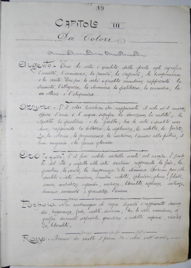 Blasonario Baccarini - p_019_c_10r - Biblioteca Manfrediana Faenza