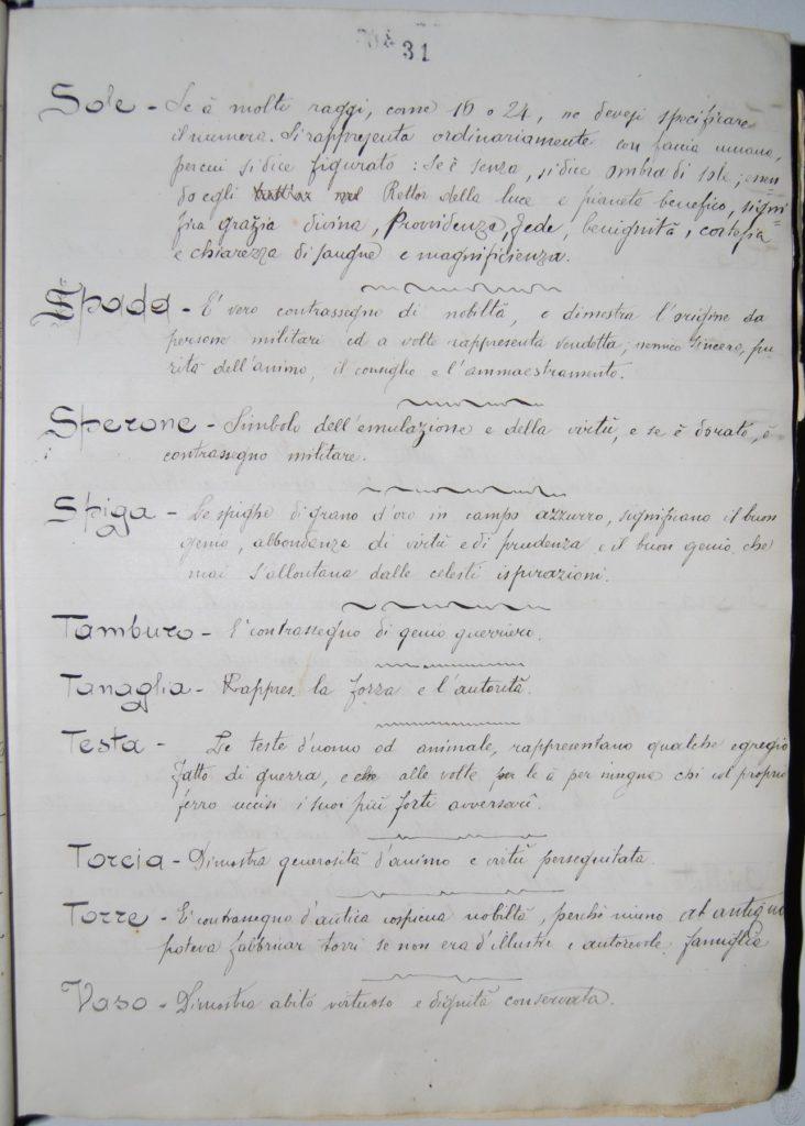 Blasonario Baccarini - p_031_c_16r - Biblioteca Manfrediana Faenza