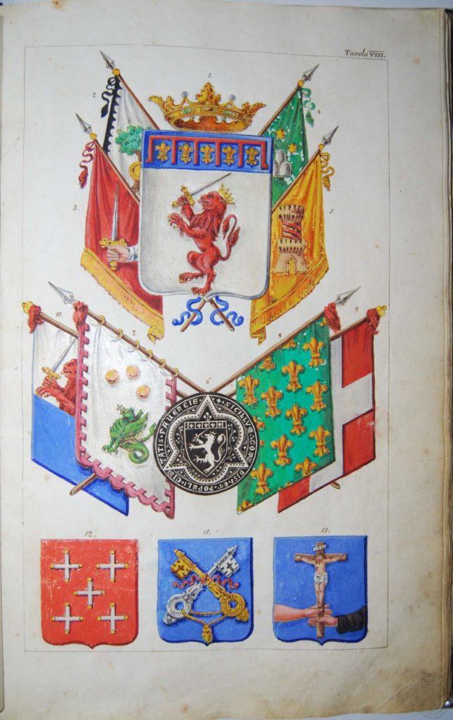 Blasonario Tassinari - 076_tav_8r - Biblioteca Manfrediana Faenza